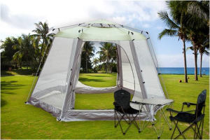 Outdoor Big Automatic Hexagon Tent (HWT-234) for More People Meeting