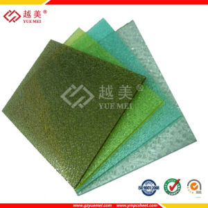 3mm Clear Solid Polycarbonate Roofing Sheet for Carport Skylight Greenhouse pictures & photos