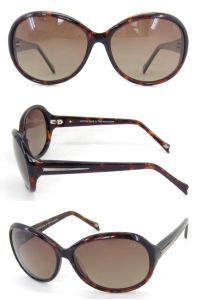 Order High Quality Designer Ladies Acetate UV400 CE Sunglasses in Cheap Prices pictures & photos