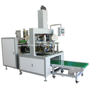 High Speed Automatic Box Four Corners Sticking Machine (YX-400) pictures & photos