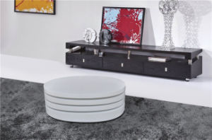 White Round Coffee Table Home Furniture (CJ-M057) pictures & photos