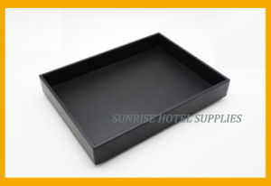 High Quality Customized Leatherette Service Tray pictures & photos