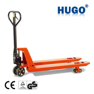 New Design Load Capacity 2.5t Rough Terrain Hand Pallet Truck pictures & photos
