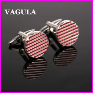 VAGULA Quality Wholesale Lines Cufflinks (HL10142) pictures & photos