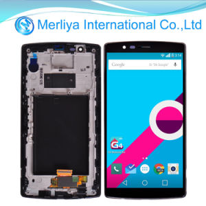 Black LCD Screen Digitizer Assembly+Frame for LG G4 pictures & photos