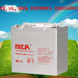 Good Quality Batterie Gel 12V Deep Cycle Gel Battery 50ah pictures & photos