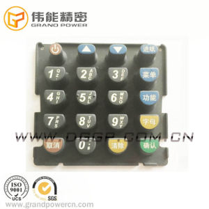 POS Equipment Silicone Rubber Keypad Card Reader Silicon Keypad