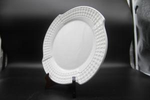 """1ceramic Dishes for Hotel Restaurant 11""""Square Corner Disc"""" pictures & photos"""