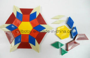 Pattern Block/Building Block for Educational Toy (CB-ED003-Y) pictures & photos