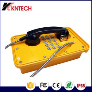 Tunnel Telephone Knsp-09 Industrial Auto-Dial Telephone Sos Emergency Phone pictures & photos