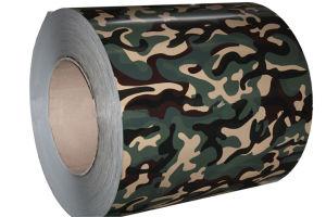 Camouflage Grain Prepainted Steel Coil (ZL-PPGI) pictures & photos