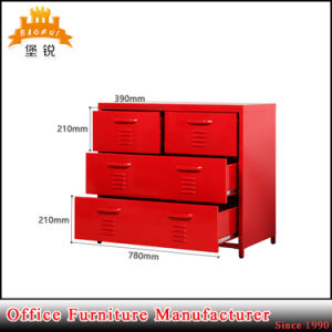 Cheap Metal 3 Layers 4 Drawer Storage Locker pictures & photos