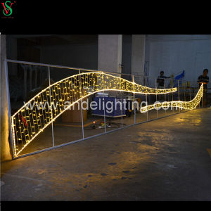 2016 New LED Christmas Motif Cross Street Decorationlights pictures & photos