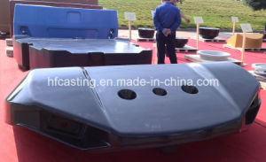 Sand Casting, Iron Casting, Counter Weight for Port Machinery pictures & photos