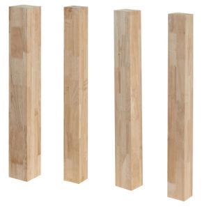 Edge-Glued Rubber Wood Finger Joint Panel