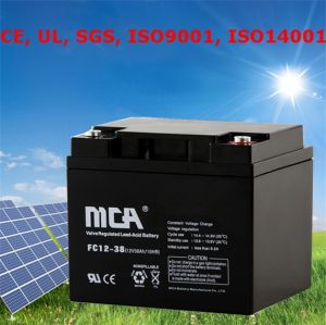 Ce UL SGS ISO Gel Cell Battery 12V Acid Battery Gel Lead pictures & photos