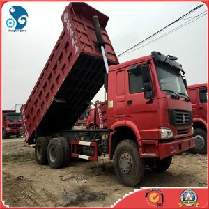 6X4 HOWO Sinotruk Dump Truck with Front Lift Cargo Truck (15CBM/30ton) pictures & photos