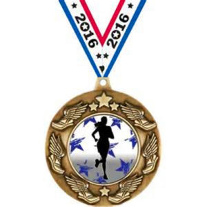 High Quality Awards Military Star Stand Medal Police Plane Pin pictures & photos