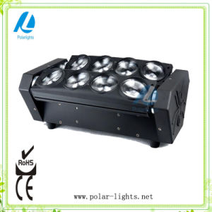 8PCS 10W RGBW LED Effect Eight-Eyes Spiders Stage Light (PL-A066B)