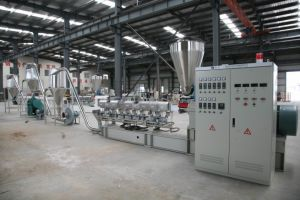 WPC (PE+Wood) Pelletizing Line (Crushing Process) pictures & photos