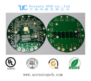 94V0 PCB for Weighing Scale with Green Solder Mask pictures & photos
