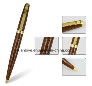 Custom Curved Metal Pen, High Quality Gift Pen (LT-C813) pictures & photos