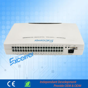 Hybrid Sysytem Stability PBX 8co Lines 32extensions Central Exchange pictures & photos