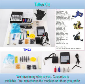 Wholesale Cheap 3 Gun Type Tattoo Kit for Sale Tk03 pictures & photos