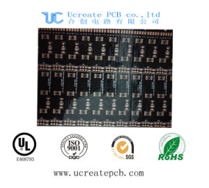 Black Flex PCB Fabrication with RoHS pictures & photos