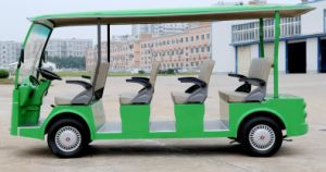 CE Approved 11 Seater Electric Sightseeing Bus Made by Dongfeng for Sale