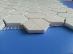 Hexagon Alumina Ceramic Lining Mats pictures & photos