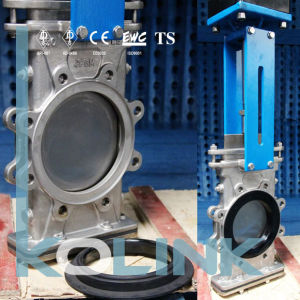 Through Blade Bi-Directional Knife Gate Valve with Replaceable Resilient Seated