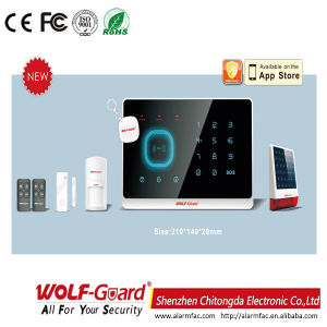 M2g RFID Touch Keypad Voice GSM Alarm System pictures & photos