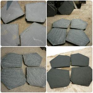Irregular Basalt Plate Flagstone pictures & photos
