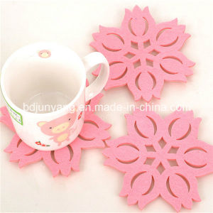 Latest Technology Finely Processed Wool Felt Coaster pictures & photos