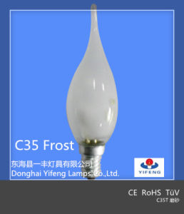 Energy Saver Class C Halogen Lamp C35 E27 28W pictures & photos