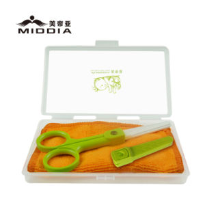 Zirconia Ceramic Baby Food Scissors with Sheath & Portable Case pictures & photos