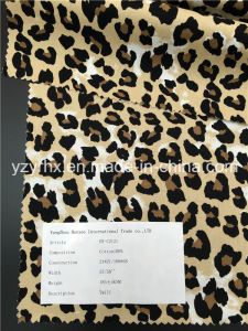 Finished Fabric 100% Cotton Twill Printed Leopard Print pictures & photos