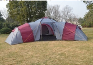 Large Size Double Layer Family Tent (EFT-011) pictures & photos