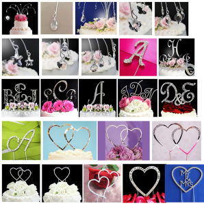 Wedding Hanging Cake Topper Sparkle Cake Jewelry Drops Topper pictures & photos