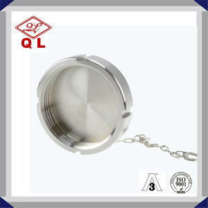 Sanitary Stainless Steel Fitting DIN Blank Nut with Chain pictures & photos