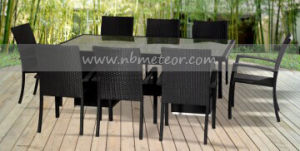 Mtc-139 Rattan Garden Furniture 9PCS Dining Set pictures & photos