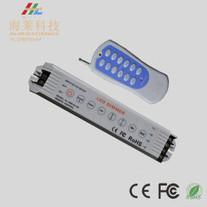 12-24VDC 6A*3channels Linear LED PWM Constant Voltage Dimmer pictures & photos