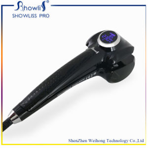 LCD Electric Digital Magic Automatic Hair Curler pictures & photos