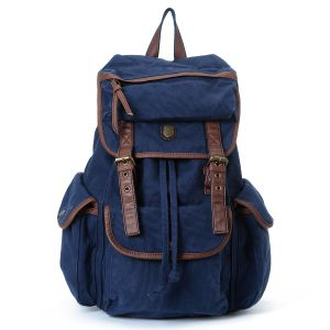 Washed Canvas School Student Backpack (RS-PID005A) pictures & photos