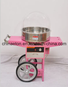 Gas Candy Floss Machine with Battery and Wheel pictures & photos