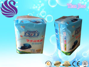 Composite Breathable Backsheet Disposable Training Panty Style Baby Diaper pictures & photos