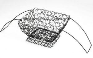 Fresh Elegance Metal Fruit Basket Wire Baske with Handle
