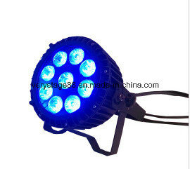 Attractive RGBWA 5-in-1 LED 9X12W Waterproof LED PAR 64 Outdoor PAR Lighting pictures & photos