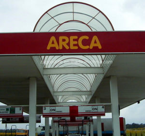 Flame Resistance Polycarbonate Arcades for Gas Station pictures & photos